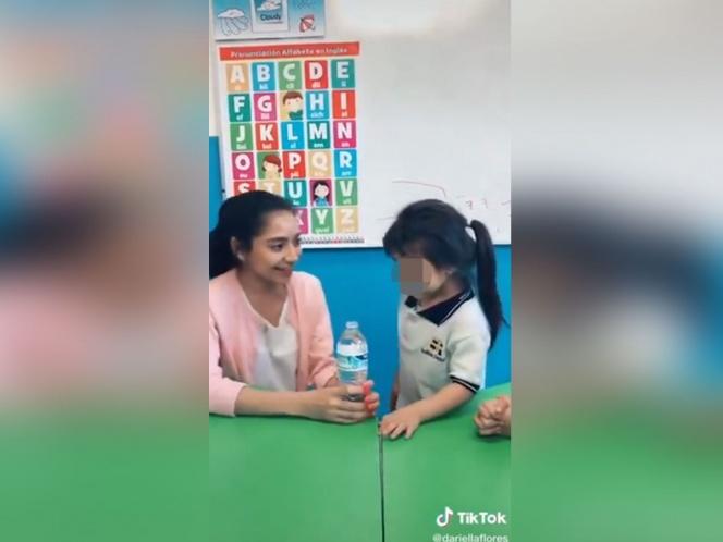 Maestra de kínder hace pesada broma a niña para video de TikTok
