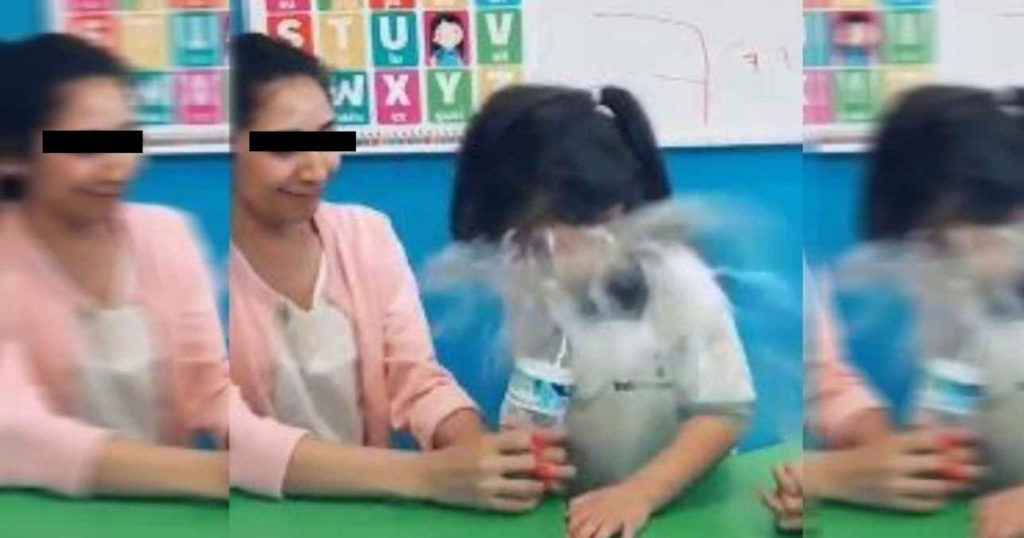 Maestra hace fuerte broma a niña de kinder y es despedida
