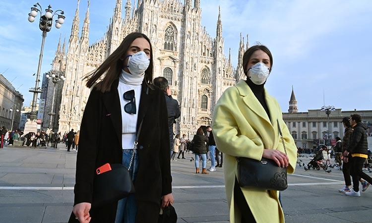 Cuarentena en Italia por coronavirus: suspenden clases, partidos, y pasarelas
