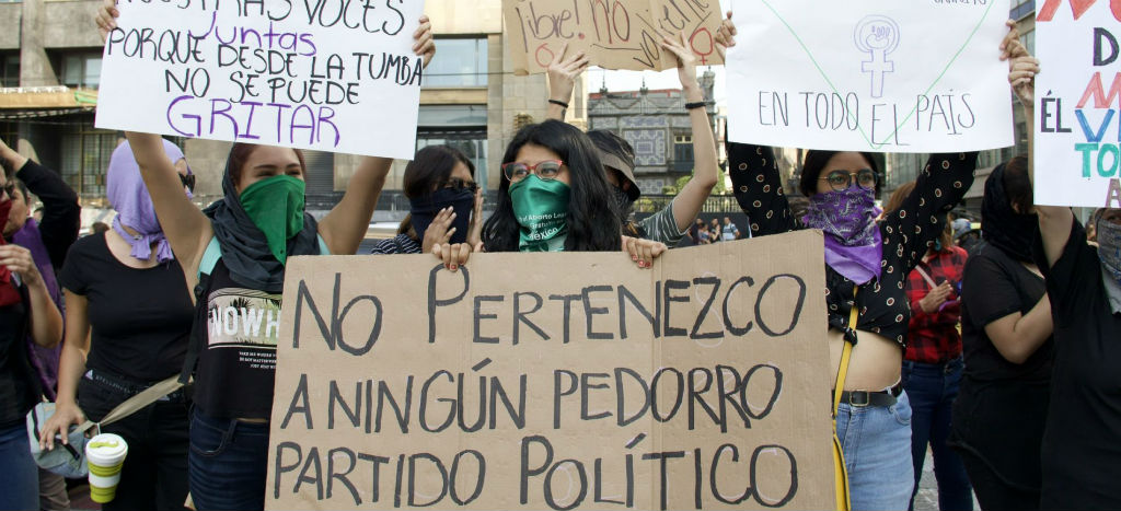 AMLO se equivoca al creer que protestas feministas son en su contra: Dresser