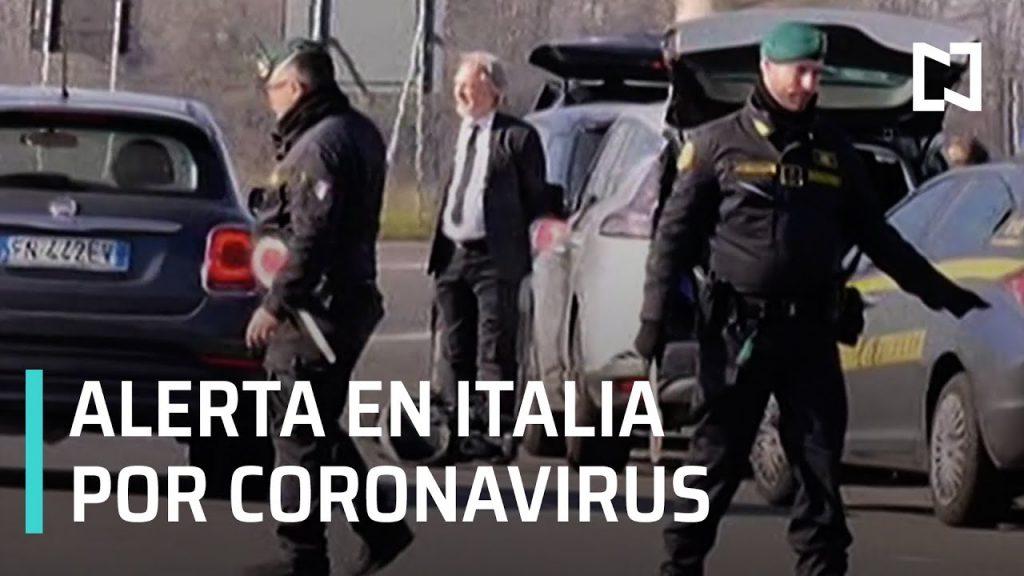 Italia en alerta por contagio de coronavirus, buscan a paciente cero