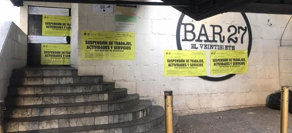 ¿La Unión Tepito en el Pedregal?… Ya clausuraron el Bar 27 tras riña y ataque contra jóvenes
