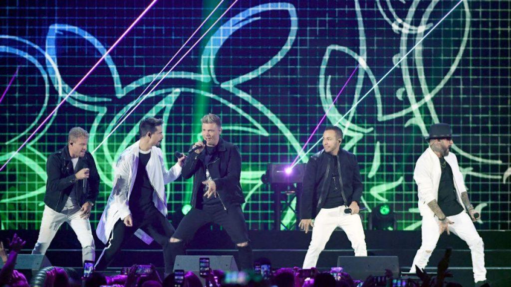 Una fan se encontró a integrantes de los Backstreet Boys comiendo tacos